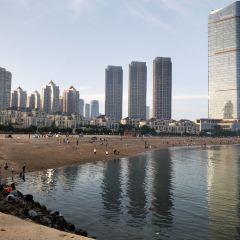 싱하이만해수욕장 여행 사진