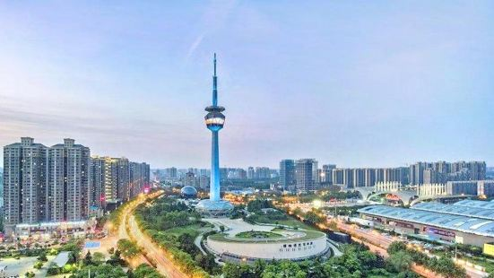 """""""Western Light"""" Shaanxi Radio and Television Tower"""