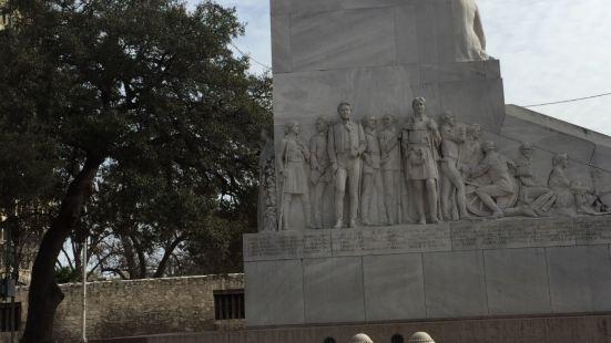 Alamo这里是德州最有名气的历史根据度,我的德州朋友一定要