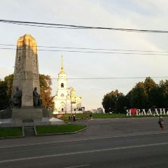 monuments on Dormition Cathedral in Vladimir (Assumption Cathedral) User Photo