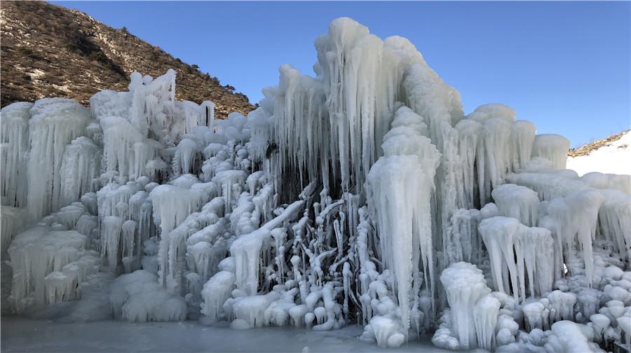 河坎子冰雪冰瀑大世界