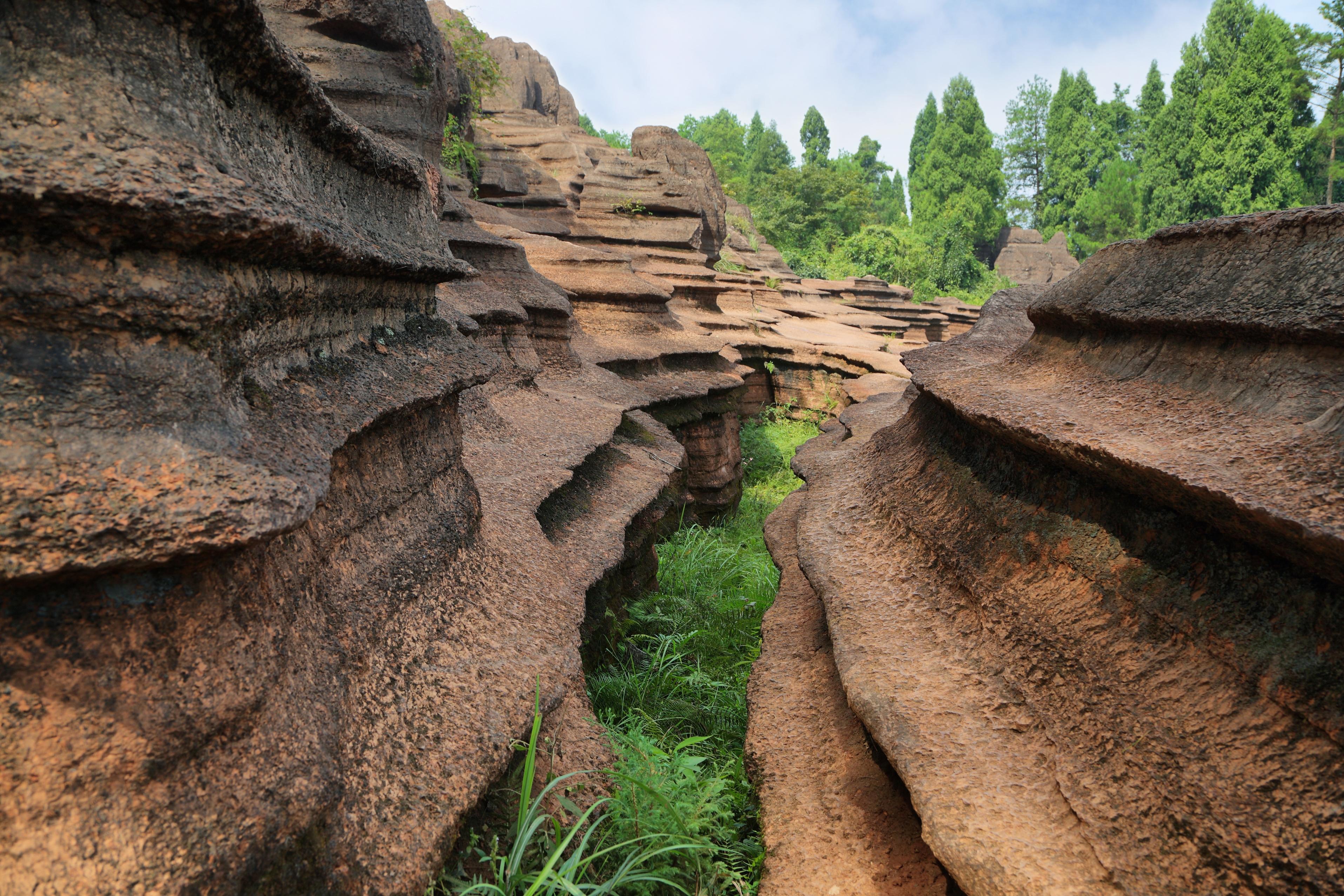 Hongshilin National Geopark