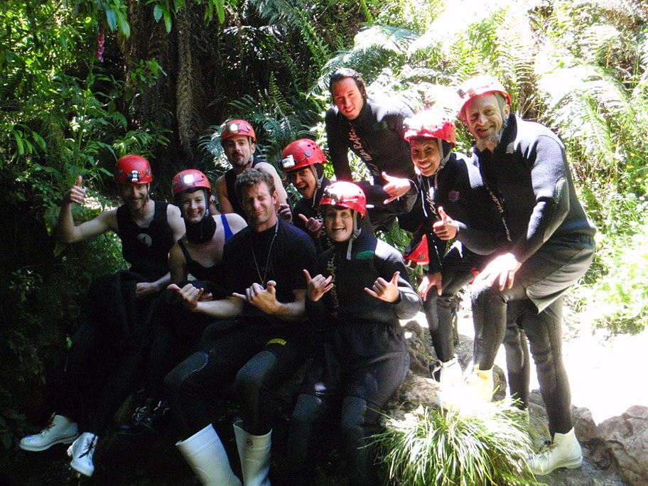 Waitomo Black Water Rafting Day Tour from Auckland to Auckland