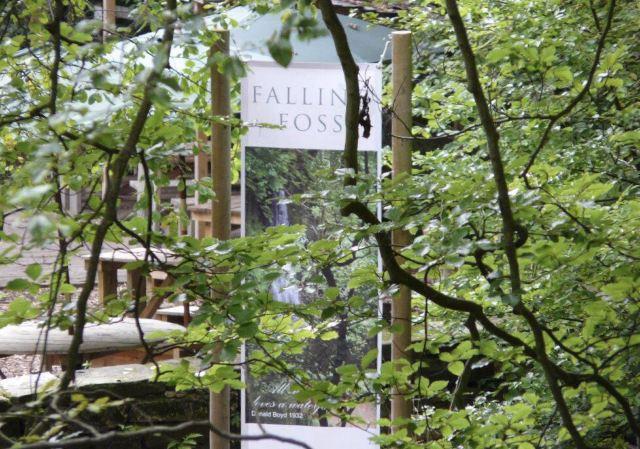 Fallen Foss Tea Garden and Waterfall