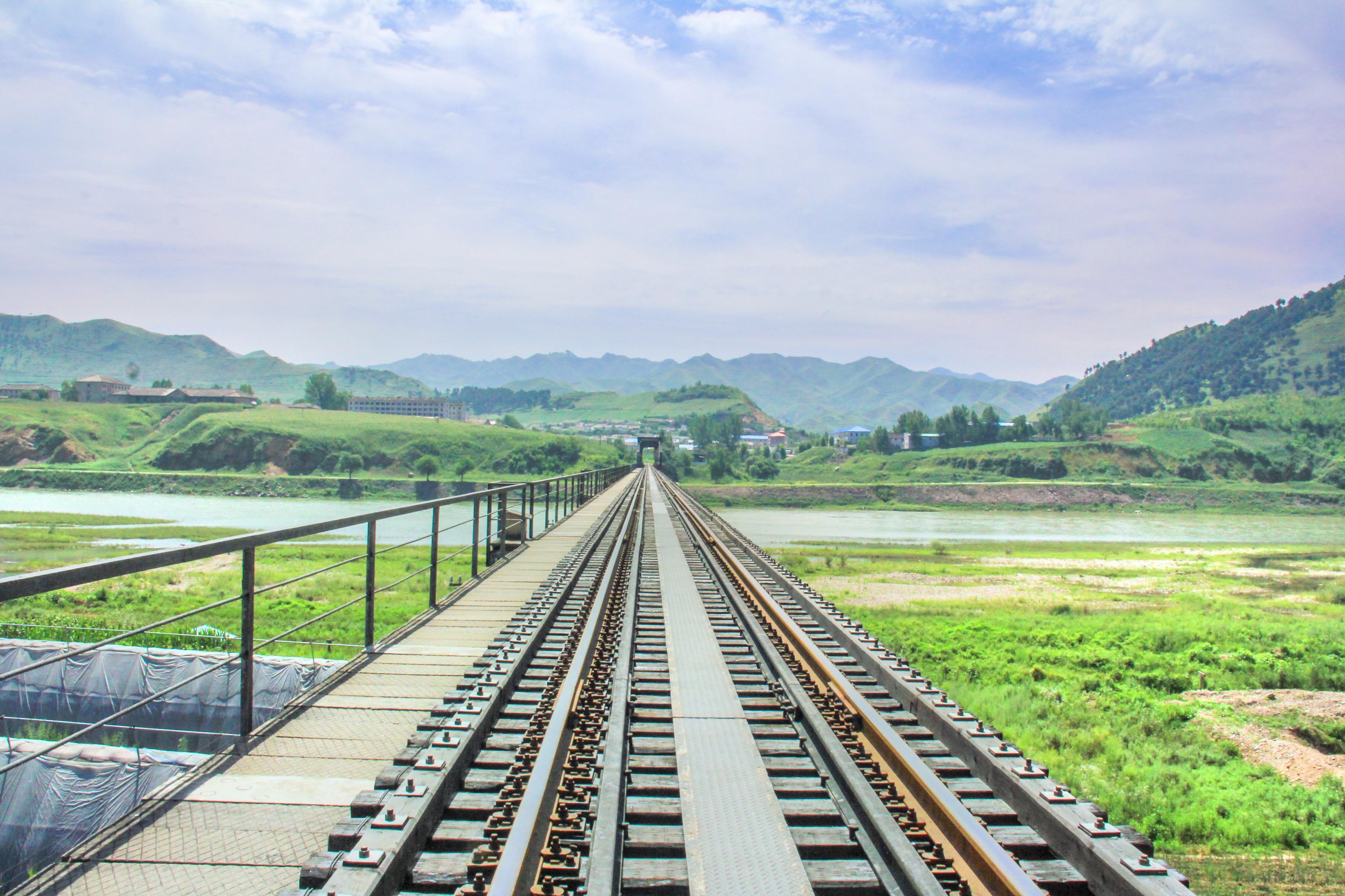 Yalu River Border Railway Bridge