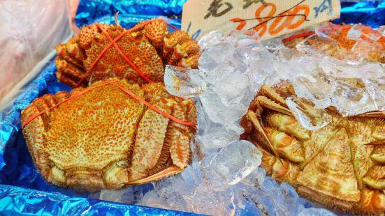 札幌螃蟹市場