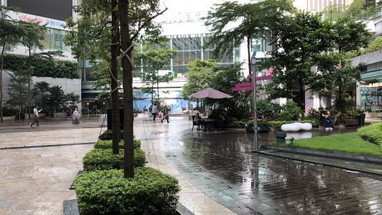 荃新天地露天園林廣場