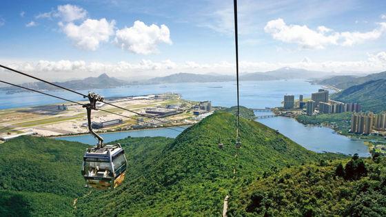 홍콩 옹핑 360 케이블 카 탑승권