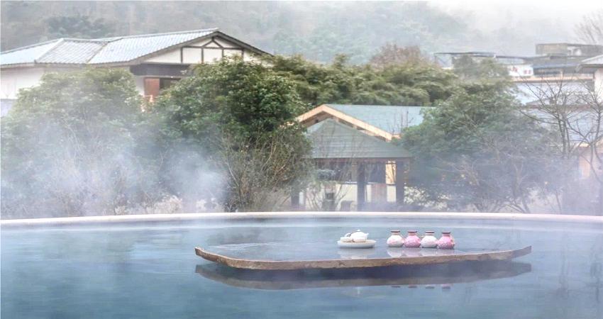Huashuiwan Haosheng Bailetang Hot Spring