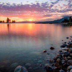 日落海灘用戶圖片
