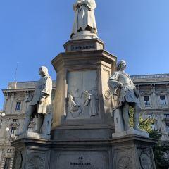 達芬奇雕像用戶圖片