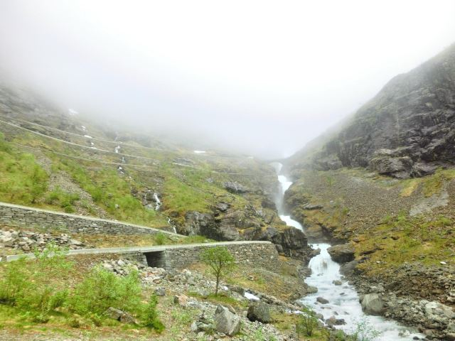 Stigfossen Waterfall