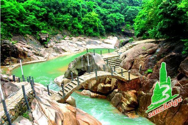 Sanzhai Valley Forest Park