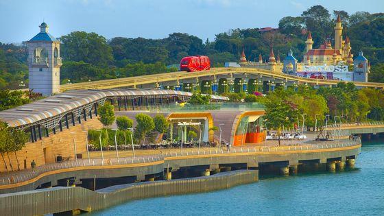싱가포르 센토사 익스프레스 탑승권