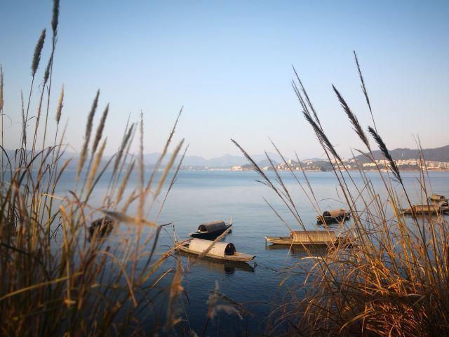 Thousand Island Lake round-the-island cycling