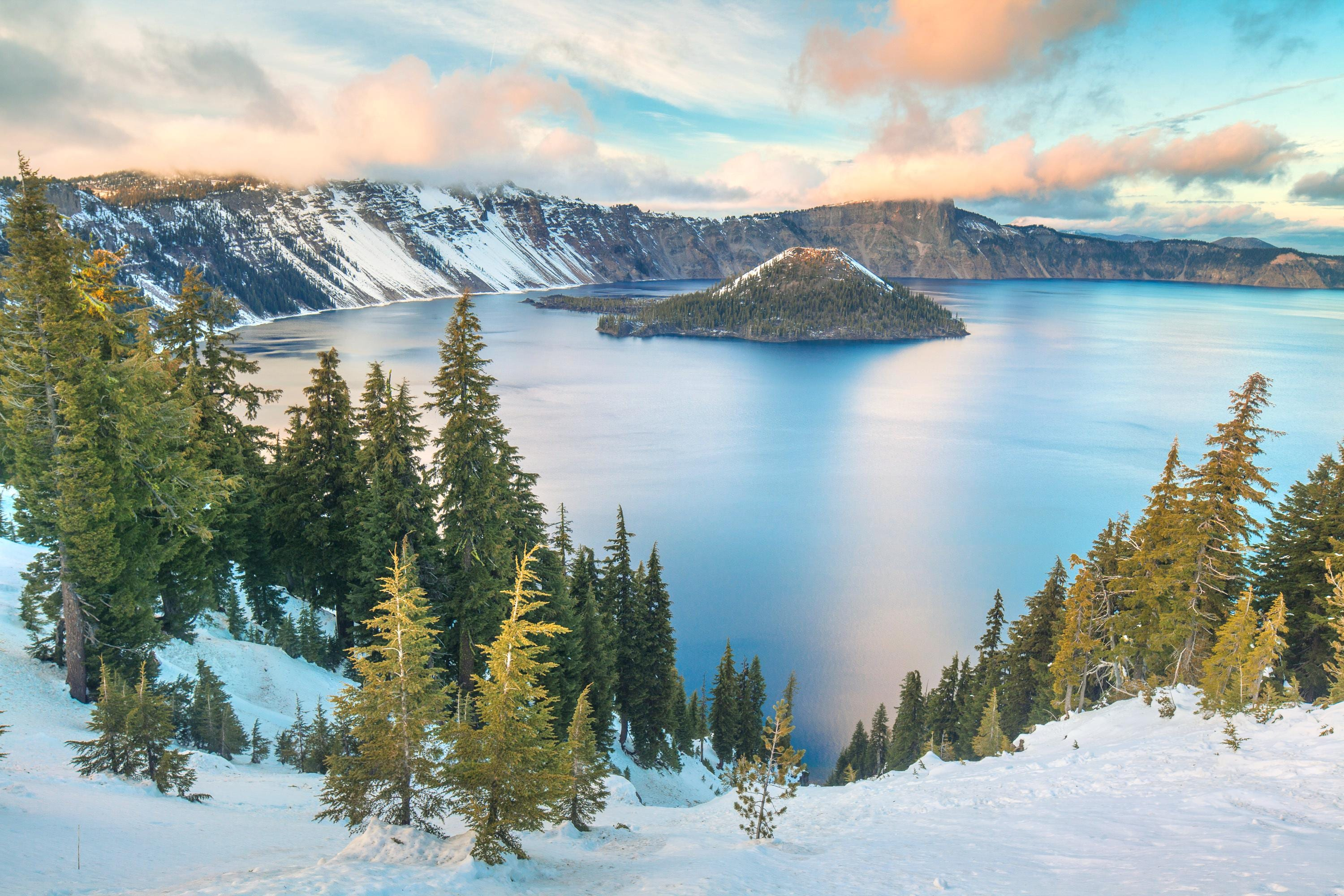 Crater National lake Park