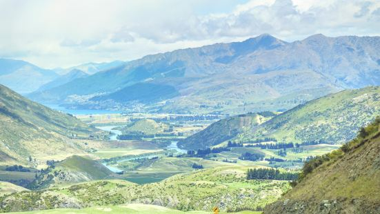 Crown Range Road Scenic Lookout