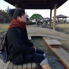 척산 족욕공원 여행 사진