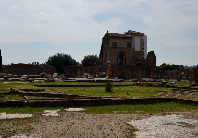 Palace of Domitian (Domus Flavia)