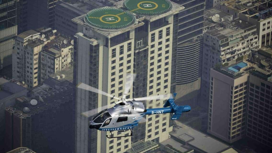HELISERVICES直升機游香港-香港直升機包機觀光
