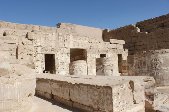 Temple of Medinat Habu