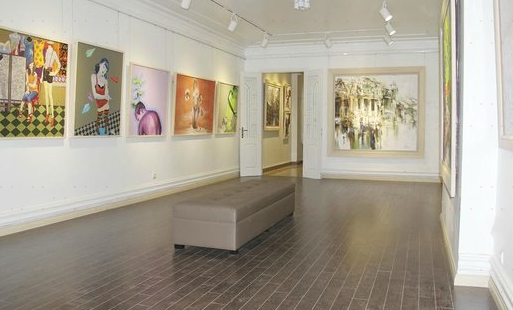 Nguyen Art Gallery in Hanoi