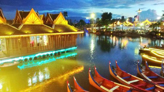 湄公河·六國水上市場