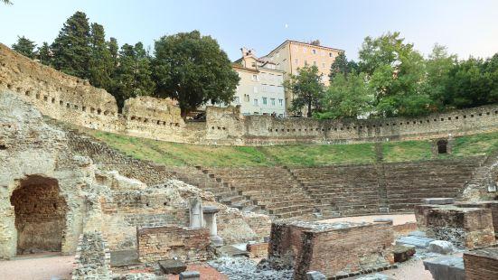 的里雅斯特羅馬劇院