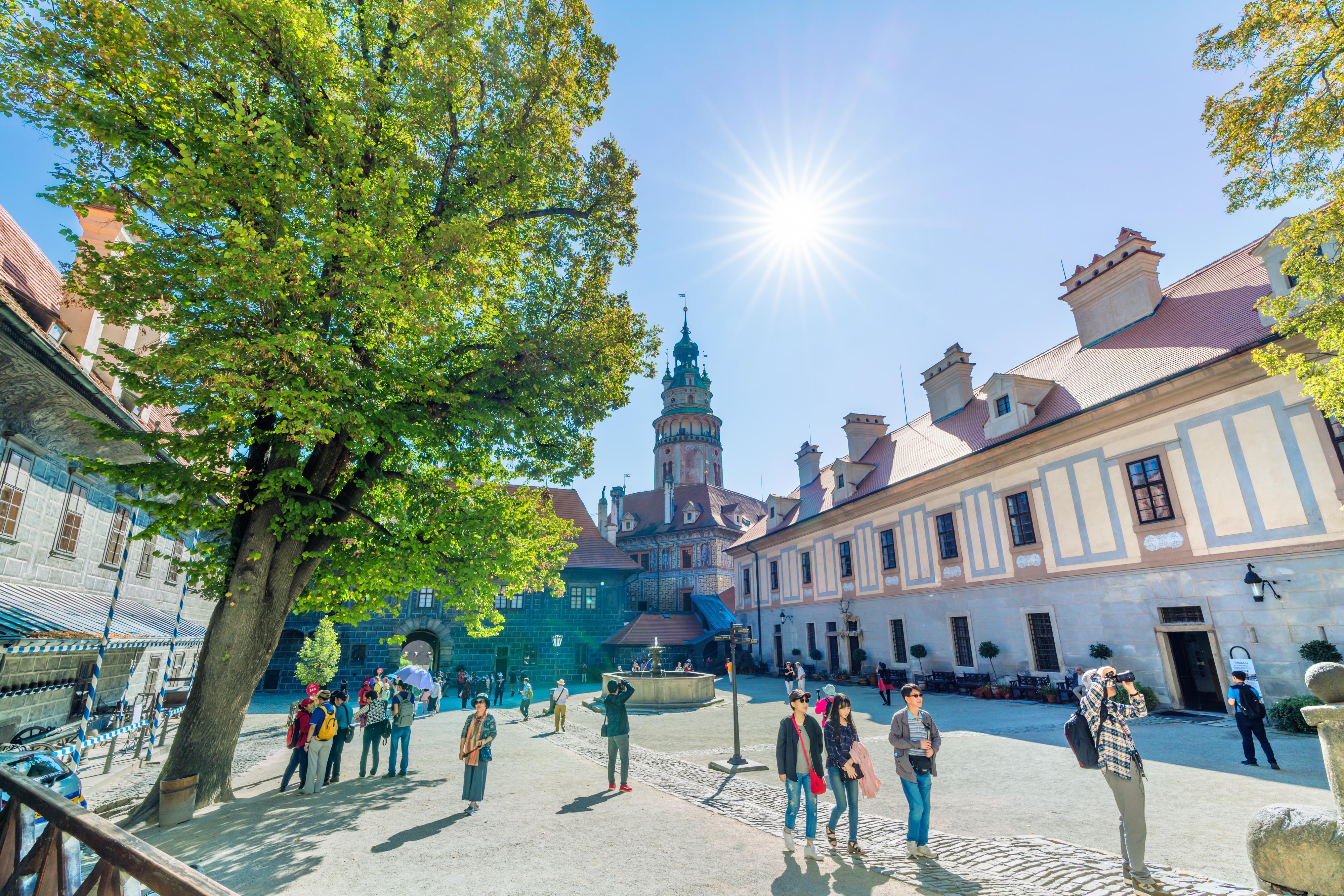 克魯姆洛夫城堡