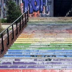 Rainbow Stairs User Photo