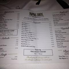 Pappas Bros Steakhouse User Photo