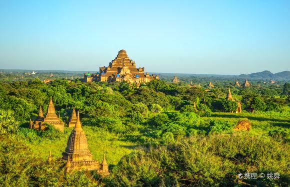 緬甸蒲甘中央平原+波耶東珠寺+蘇拉瑪尼佛塔+敏南達民俗村一日遊