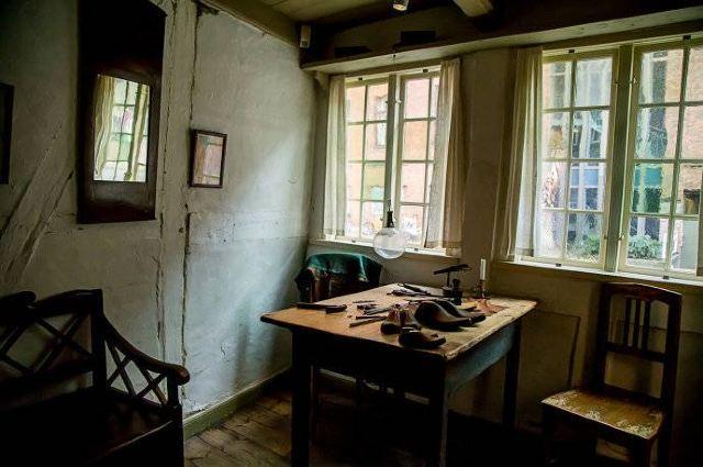 Hans Christian Andersens Childhood Home