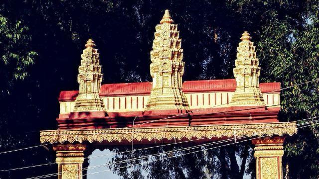 Phnom Sombok寺廟