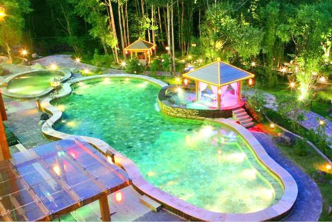 Paektu Mountain Lanjing Hot Springs Resort