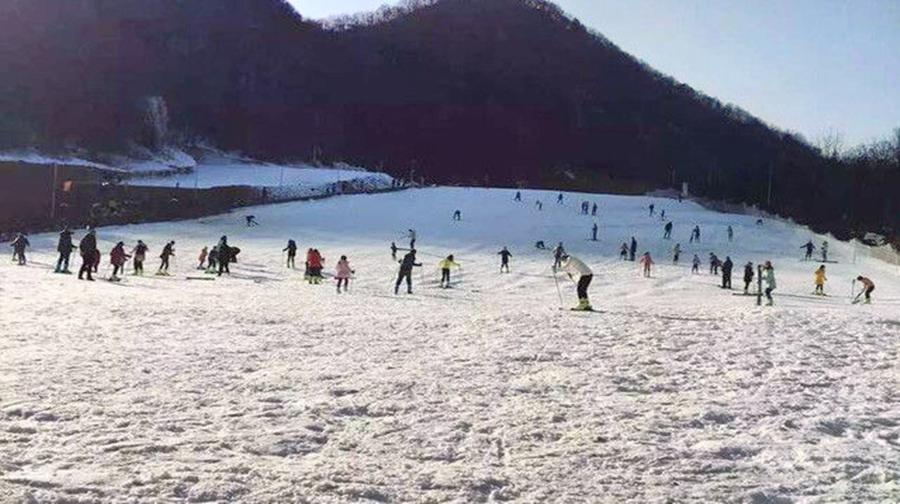 Huangheshilin Ski Field