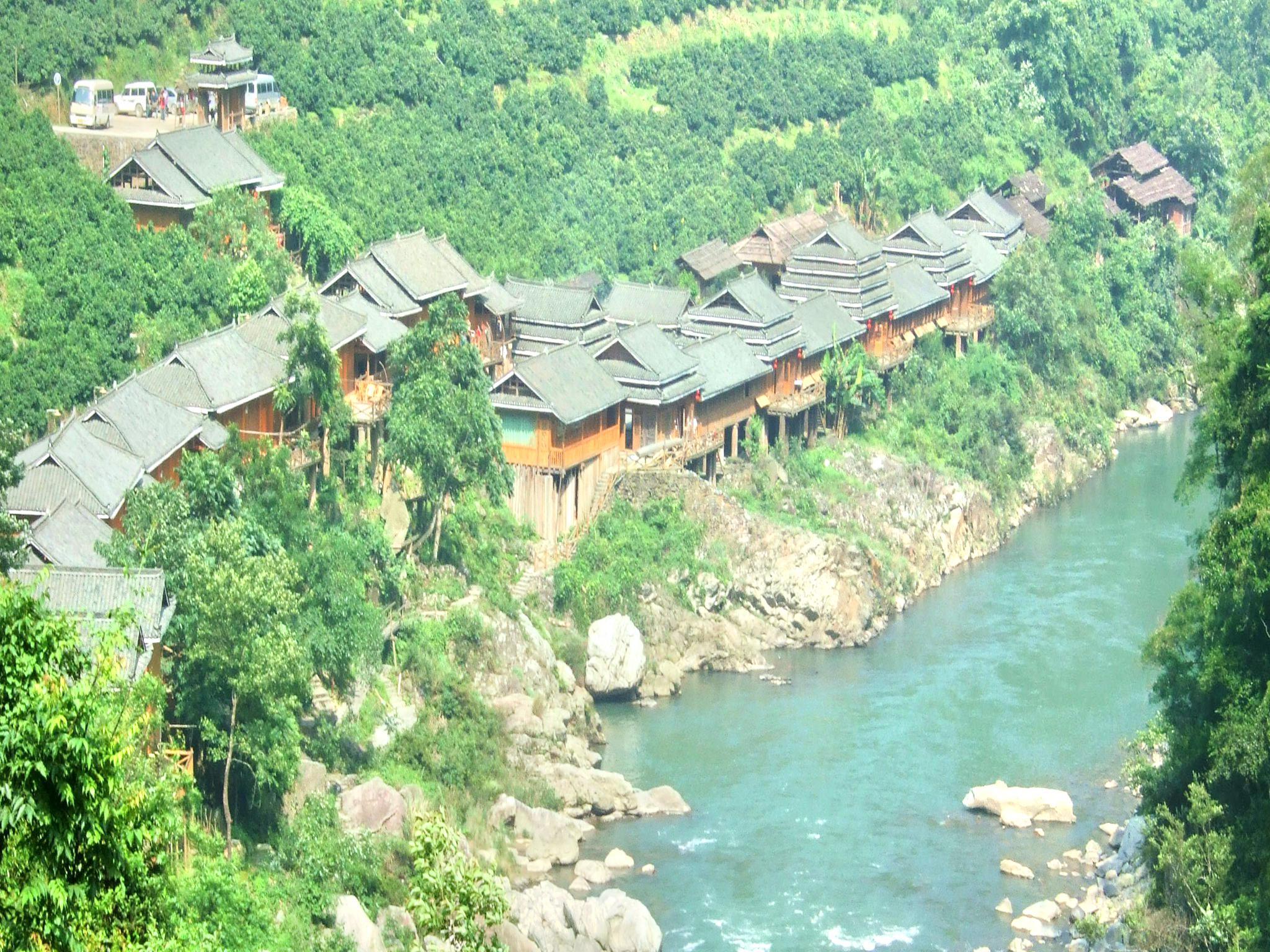 Longsheng DTW Hot Spring Folk Culture Resort