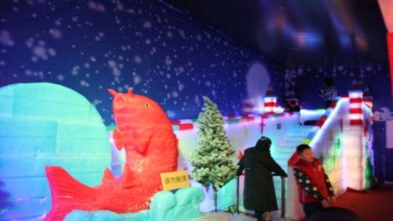 頤高上海街哈爾濱冰雕展景區