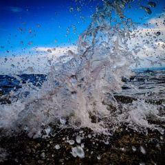 바이청 해변 여행 사진