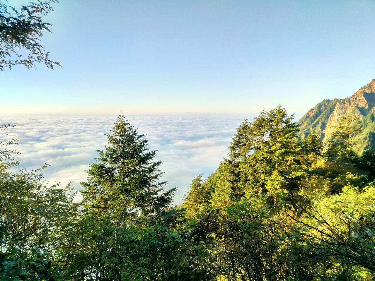 Jiufeng Mountain Scenic Area