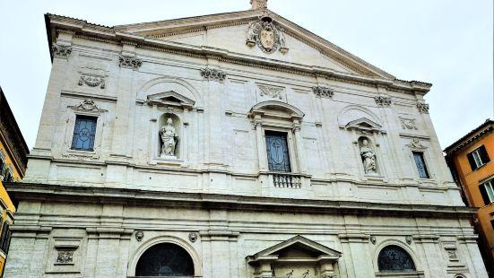 卡拉瓦喬為聖路吉教堂