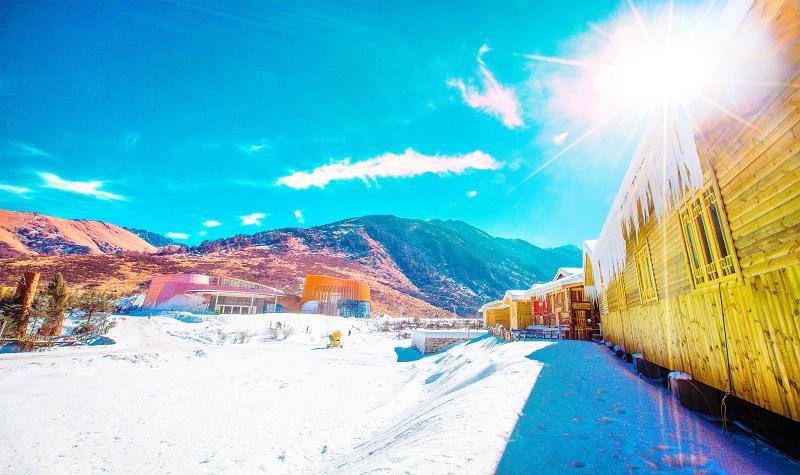 Zhegushanzirangongyuan Ski Field
