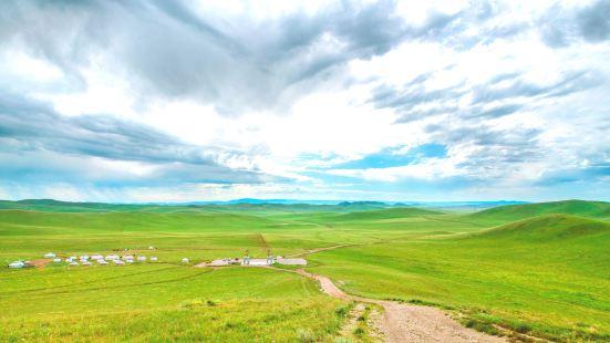 成吉思汗瞭望山
