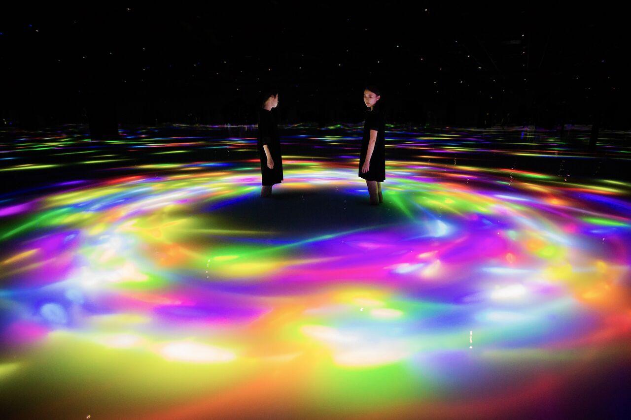 チームラボプラネッツ TOKYO (teamLab Planets TOKYO) DMM Trip.com Group発行
