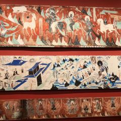 둔황 석굴 예술관 여행 사진