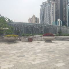 Waterscape Falls In East Station Plaza User Photo