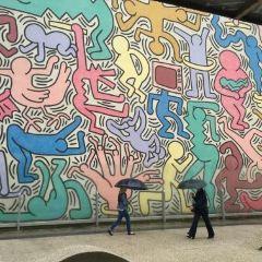凱斯哈林壁畫用戶圖片
