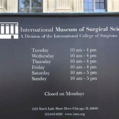 International Museum of Surgical Science User Photo