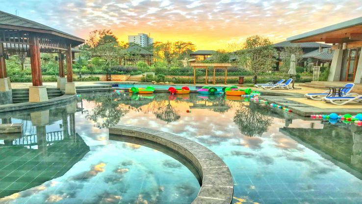太白山艾蘭溫泉國際酒店溫泉