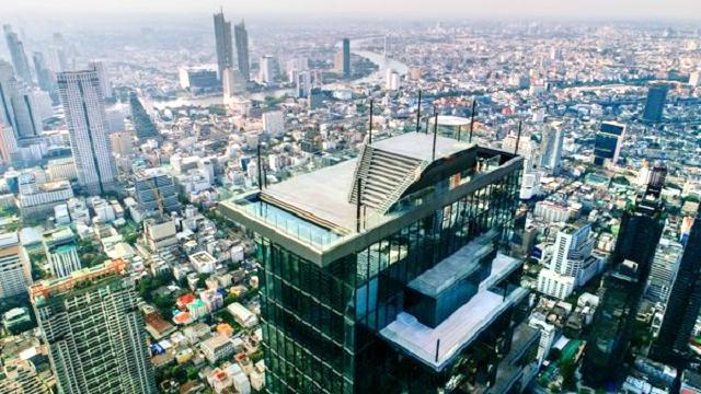 王權雲頂大廈玻璃觀景台